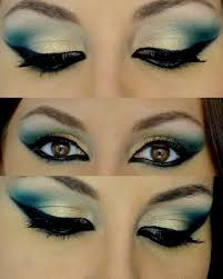 arabic eyes makeup tutorial cat eye