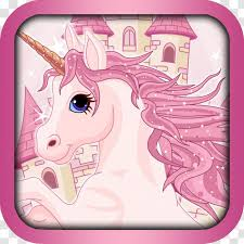 Wall Decal Unicorn Fairy Tale Book Horn Pink Transparent Png