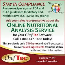 interfaces nutritional ysis