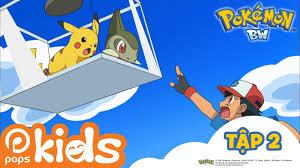 Pokémon Tập 2 - Airisu Và Kibago - Hoạt Hình Pokémon Black and ...
