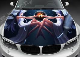 Anime Angel Car Hood Wrap Decal Vinyl Sticker Full Color Graphic Fit Any Car Ebay