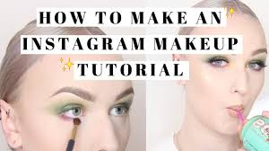 insram makeup tutorial