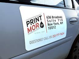 Custom Printed Magnets Car Door Advertising Magnets