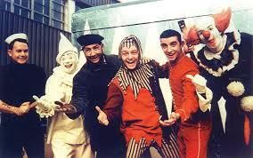 Poopdeck Paul, Milky the Clown, Captain Jolly, Jingles, Johnny ...