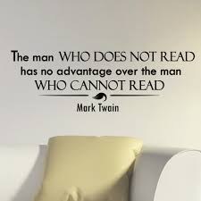 Shop Mark Twain Quote Vinyl Sticker Wall Art Overstock 10425711
