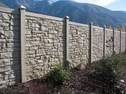 Stone Look Fence 6 W Ecostone Backyard Fences Vinyl Privacy Fence Fence Landscaping