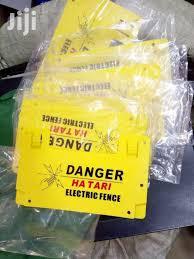 Warning Signs For Electric Fence In Nairobi Central Building Materials Njama Jiji Co Ke For Sale In Nairobi Central Buy Building Materials From Njama On Jiji Co Ke