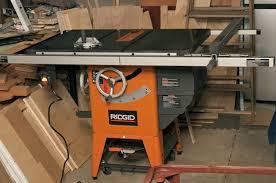 Review Ridgid R4511 10 In Granite Top Table Saw By Purplev Lumberjocks Com Woodworking Community
