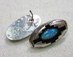 Felix Perry Navajo Blue Opal Ster. Neck. Set