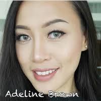 Jual Softlens Adeline Brown Dreamcolor - Jakarta Barat - Softlens ...