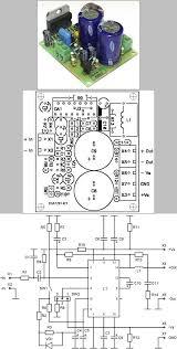 100w lifier circuit tda7293