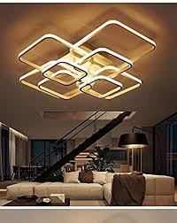 aluminum modern led ceiling lights