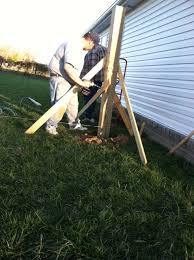 My Home Life Story How We Put Up Our Diy Exposed Post Privacy Fence