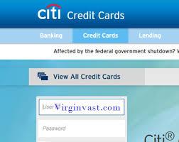 citi credit card login payment