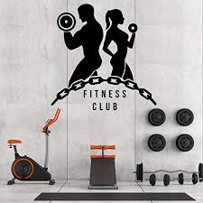 Amazon Com 22 X 22 In Motivational Inspirational Gym Wall Decals Workout Fitness Crossfit Exercise Room Art Decor Vinyl Stickers Quotes Sayings Signs Poster Decorations Beast Mode On Gy353 Home Kitchen