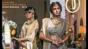 sanjana bridal makeup fashion film by