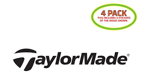 Taylor Made Golf Sticker Vinyl Decal 4 Pack For Sale Online