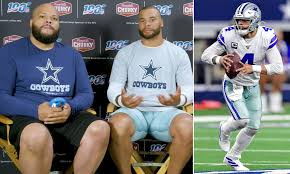 Dallas Cowboys quarterback Dak Prescott ...