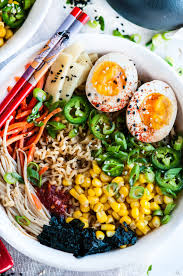 easy homemade ramen with soft boiled