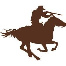 Wall Design Pieces Cowboy Horse Rider Kids Boys Bed Room Fashion 16x16 Walmart Com Walmart Com