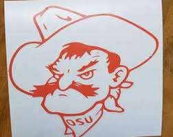 Pistol Pete Decal Etsy