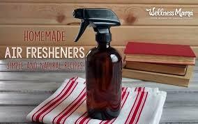 how to make homemade air fresheners to
