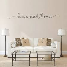 Vova Letter Sweet Home Wall Art Decal Sticker Removable Living Room Home Decoration