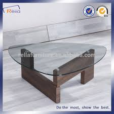 triangle glass top coffee tables made