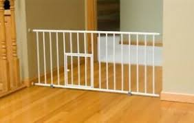 Pet Dog Gate Puppy Cat Door Expandable Barrier Animal Fence Indoor Safety Lock Ebay