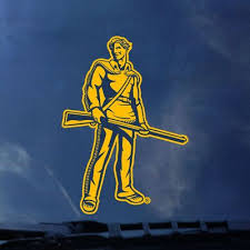 Wvu Mountaineers Color Shock Mascot Decal Barnes Noble At Wvu