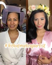 before and after by kitkat wedding