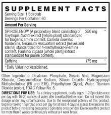 spirodex mood enhancing stimulant