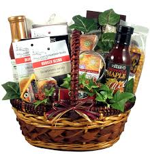 king of the grill gift basket for men