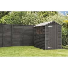 Ronseal One Coat Fence Life Tudor Black Oak 5l Homebase