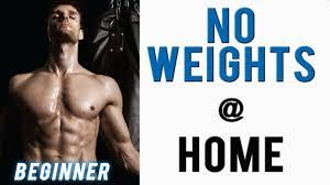 beginner upper body workout no