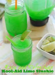 kool aid lime slushie recipe shesaved