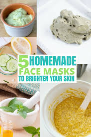 simple diy face masks for glowing skin