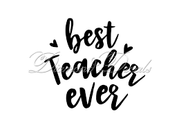 Teacher Decals Best Teacher Ever Decal Vinyl Car Decal Or Mug Wine Glass Decal Size And Colour Options Available