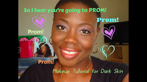 prom makeup tutorial for black s