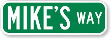 Keepsake Street Name Signs Street Name Sign