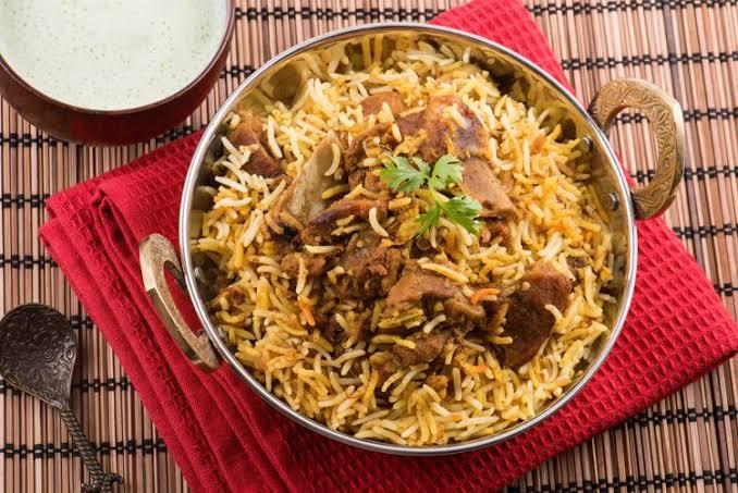 Mutton biryani(మటన్ బిర్యాని)
