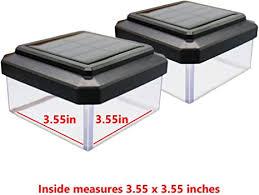 Davinci Premium Solar Led Post Cap Light Aluminum Warm White Lighting Outdoor Light For Fence Deck