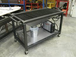 diy welding table and cart ideas