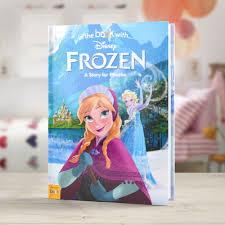 disney frozen personalised book