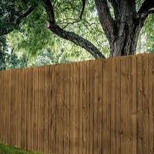 Select Cut Color Pro Picket 0 625 In X 3 5 In X 6 Ft Brown Pro Treated Wood Fence Picket 583506de540bpro The Home Depot