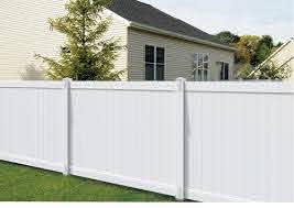 Yardworks Richmond 6 X 8 White Privacy Vinyl Fence Panel At Menards
