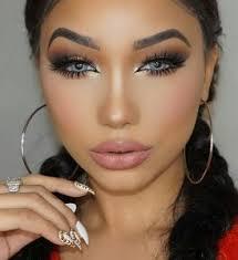 natural makeup light brown skin