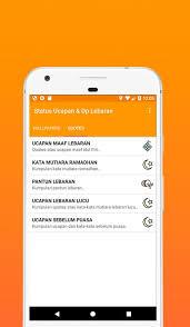 status lebaran dp ucapan idul fitri for android apk