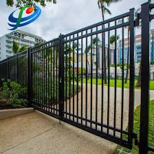 China Black Welded Decorative Metal Fence Panels Residential Fence Designs Aluminum Fencing Vinyl Fence Wrought Iron Fence China Risidential Fence And Wire Mesh Fence Price