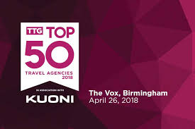 ttg travel agencies 2018 ttg top 50